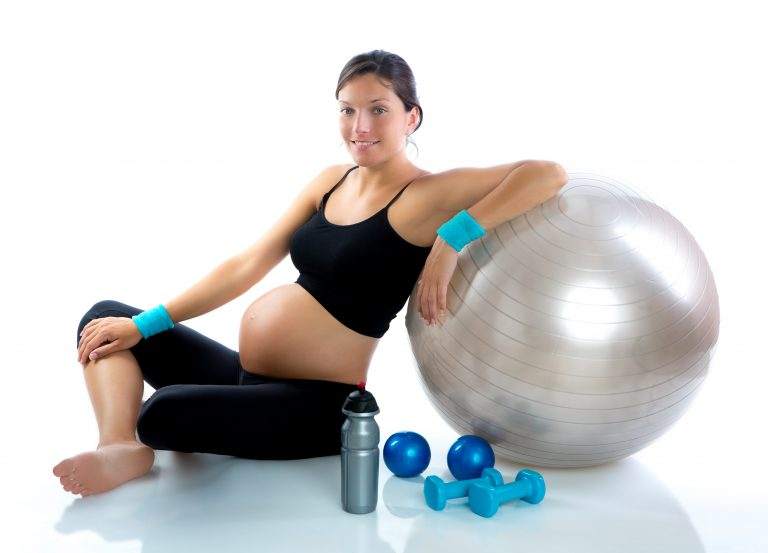 Pregnant Woman at Birth Center