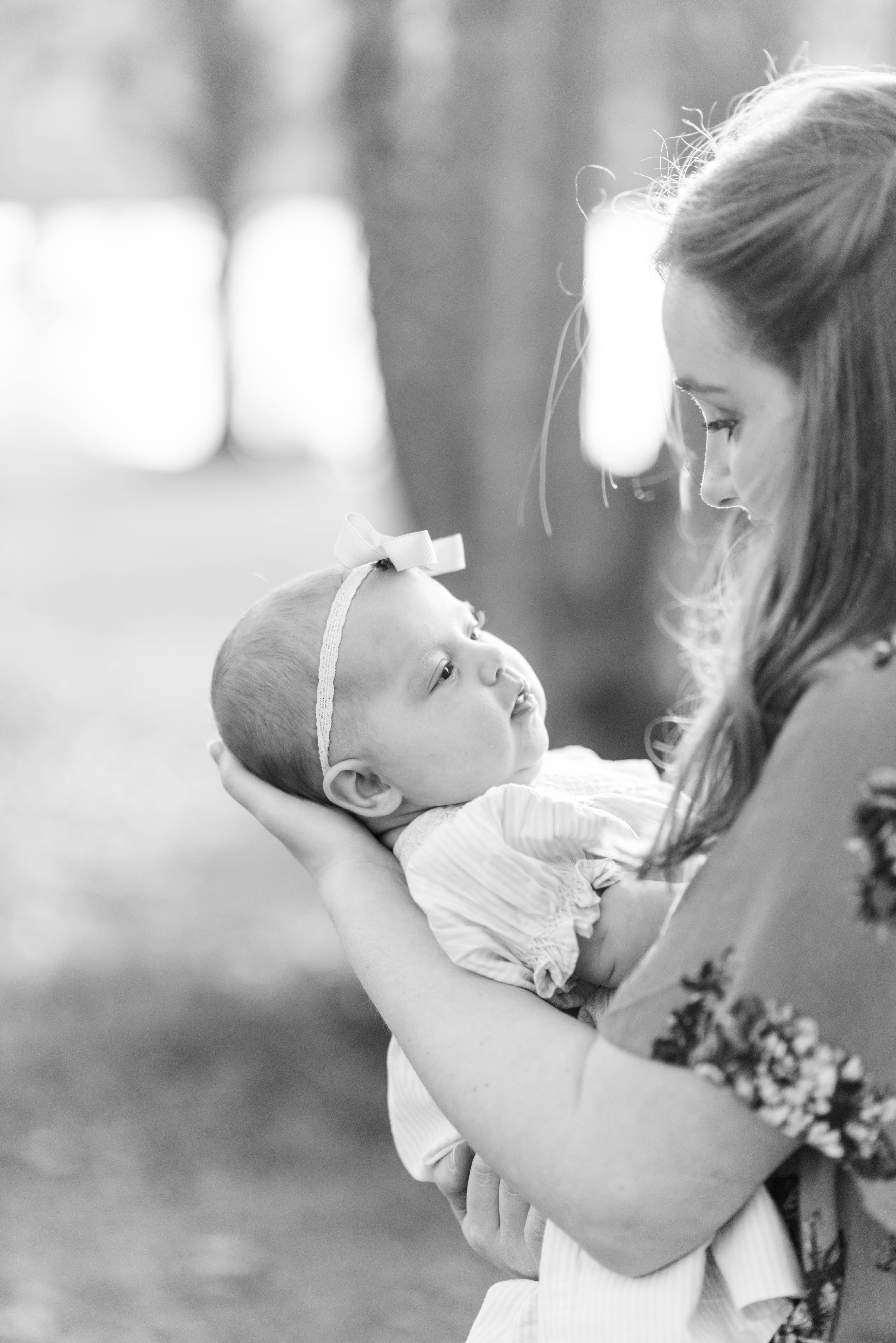 Mom with postpartum depression